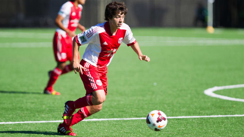 Reid Baez, Timbers Academy U-16