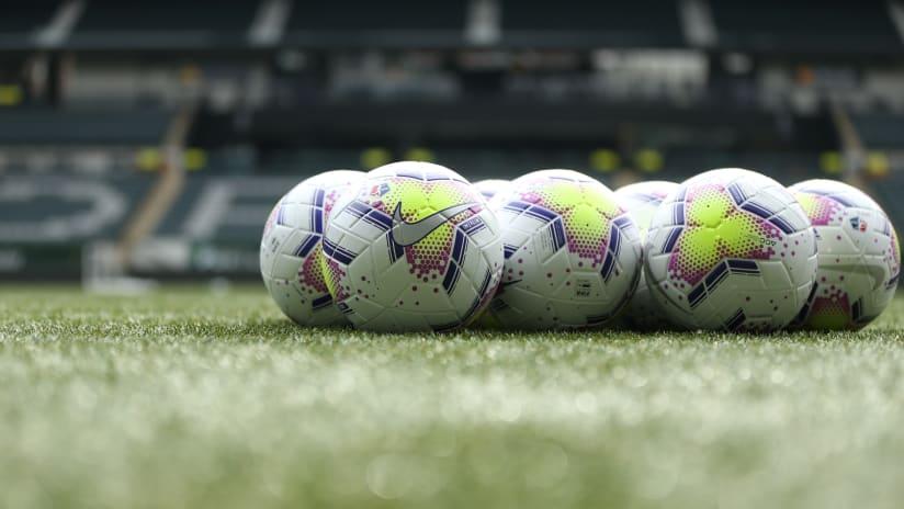 2020 Nike NWSL balls, Thorns training, 3.2.20