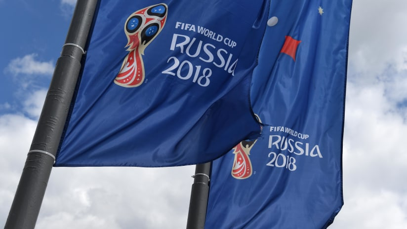 2018 World Cup Russia Flags, 6.13.18