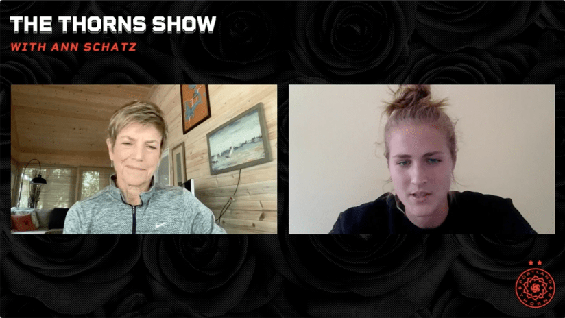 WATCH   Bella Bixby talks about her recovery from injury and road to being a starter   The Thorns Show