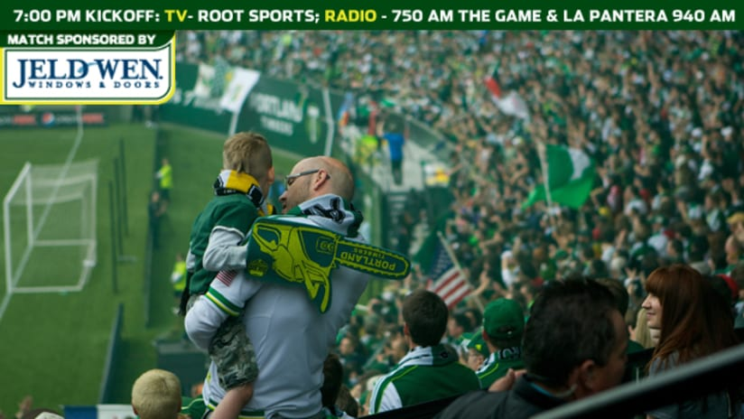 Matchday timbers, 5.26.12