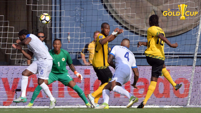 Darren Mattocks, Jamaica vs. Curacao, Gold cup, 7.9.17
