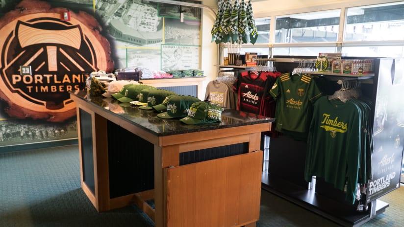 Timbers Temporary Store, 11.21.17