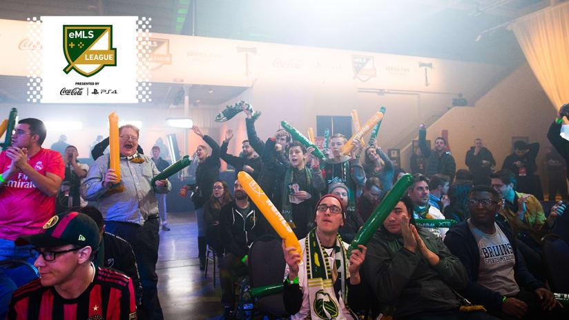 eMLS League Series Two Crowd, 2.15.20