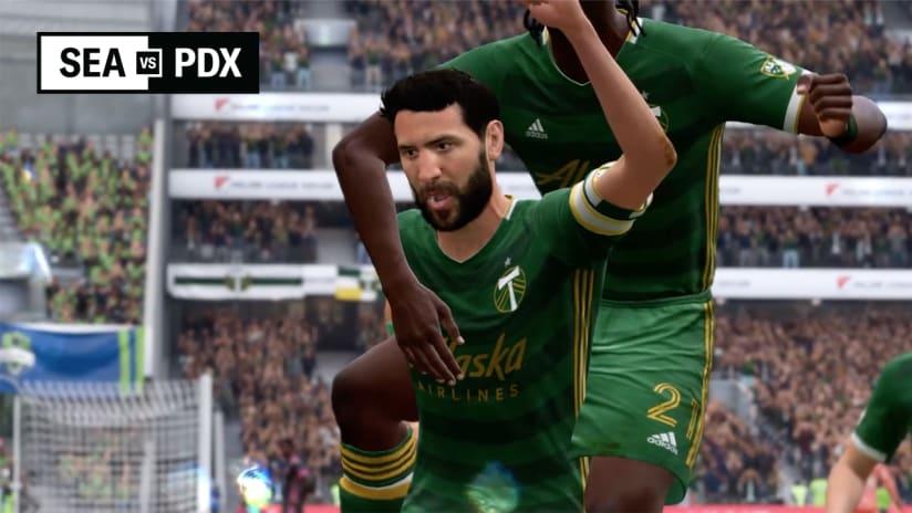SEAvPDX FIFA Showdown Recap, 5.21.20