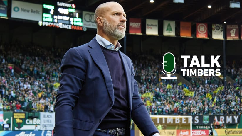 PODCAST | Giovanni Savarese on Talk Timbers + a look ahead to #LAvPOR