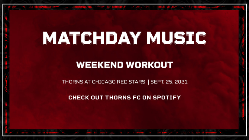 Matchday Music   A Weekend Workout for this Thorns playlist