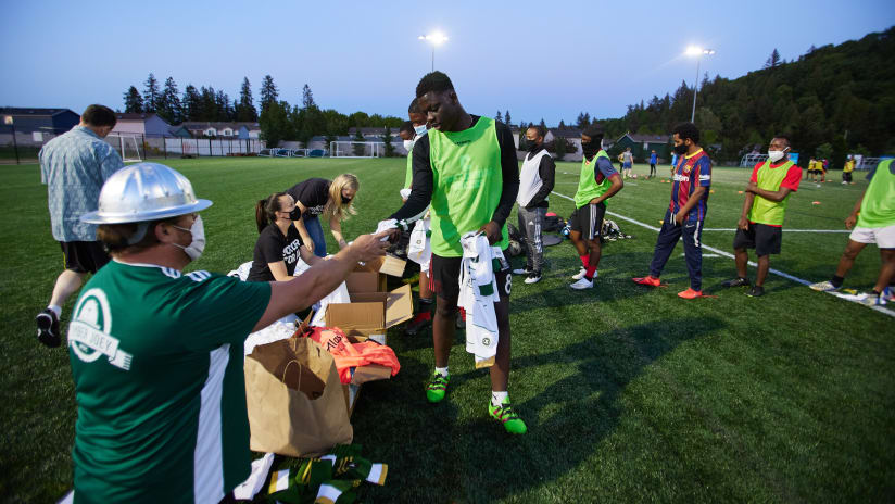 How Portland Street Soccer adapted to Covid-19's world