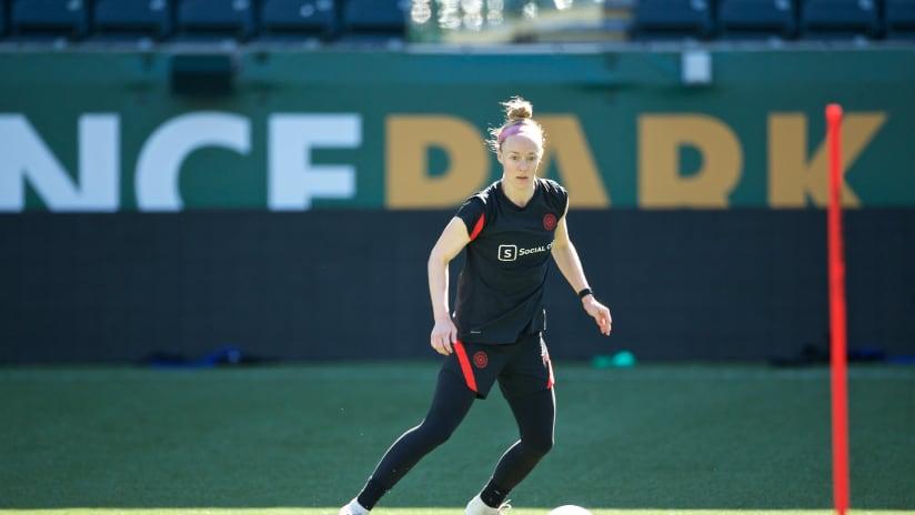 Becky Sauerbrunn, training, 8.26.20