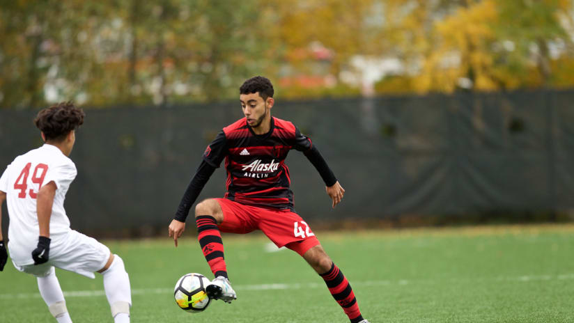 Top level of Generation adidas Cup marks new milestone for Timbers' Academy