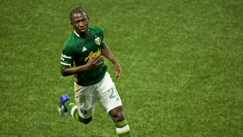 Diego Chara #2, Timbers vs. Seattle, 8.23.20