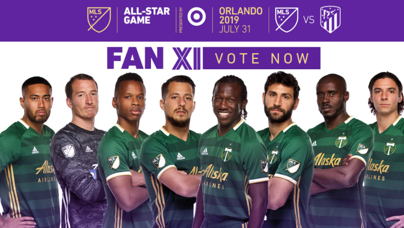 2019 MLS All-Star Timbers Players, 5.23.19