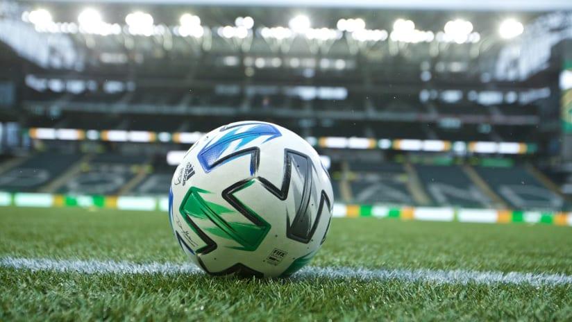 adidas ball, Timbers vs. SJ, 10.11.20 [2]