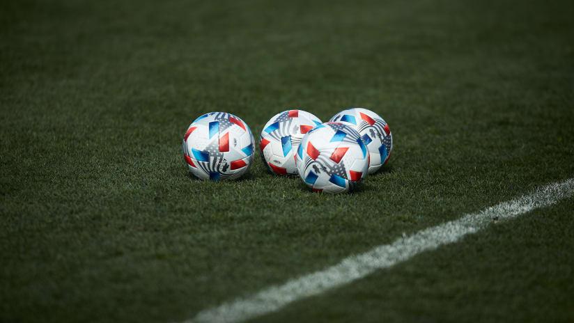 Timbers adidas ball, 2.25.21