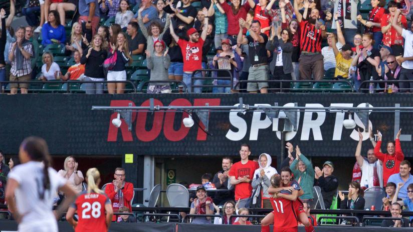 Hayley Raso, Goal, Portland Thorns FC vs FC Kansas City, 06/28/2017