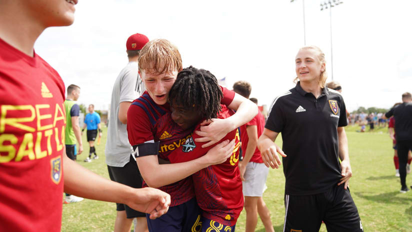 Real Salt Lake Academy Battles Their Way Into MLS NEXT Cup Final