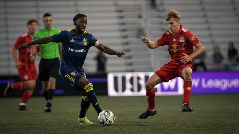 Real Monarchs Split Points With New York Red Bulls II