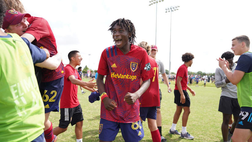 Real Salt Lake Academy Shines and Makes Its Mark at Every Level