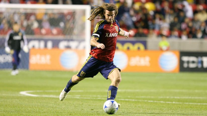 Captain Kyle Beckerman remains the linchpin for Real Salt Lake's ball movement