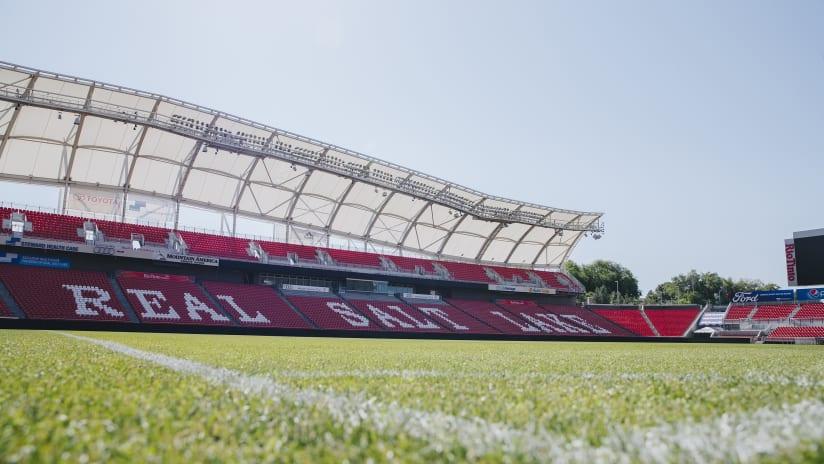 Rio Tinto Stadium Grass Level