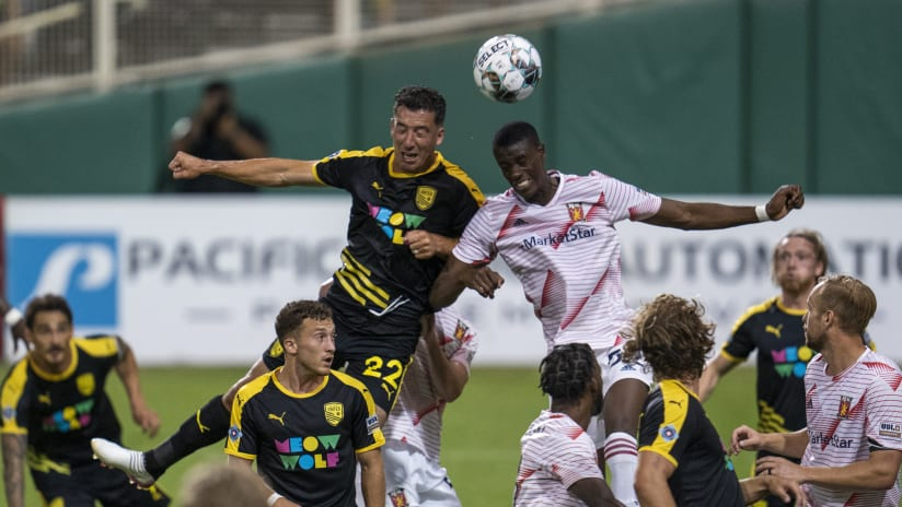 Real Monarchs Fall 2-1 in New Mexico