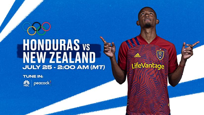 Martinez Starts for Honduras at the Olympics