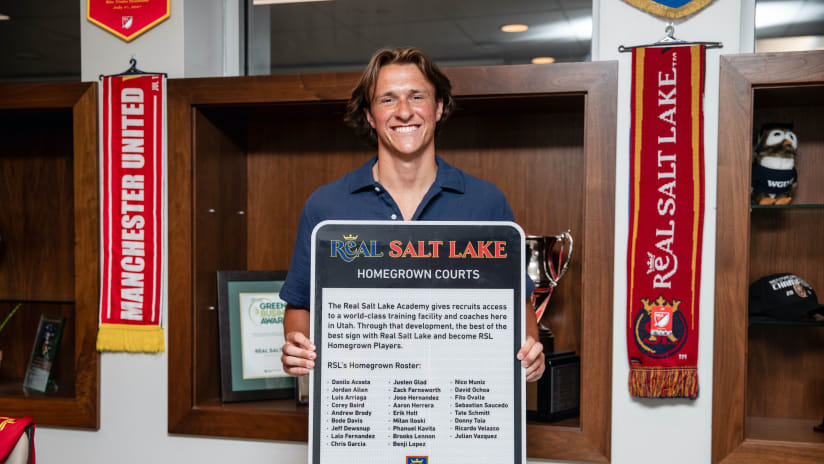 Real Salt Lake Homegrown Factory Continues to Grow and Improve