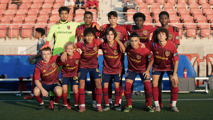 RSL Academy Continues MLS NEXT Season