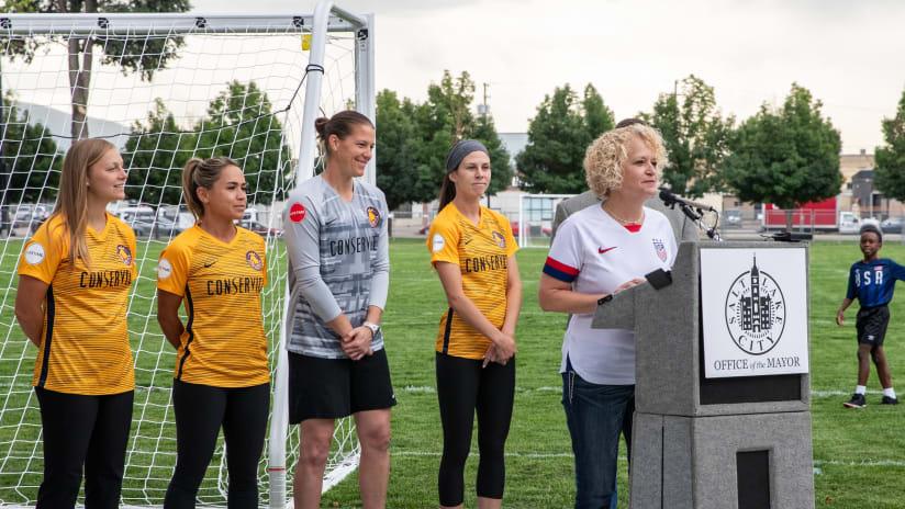 URFC At Pioneer Park Soccer Field Opening