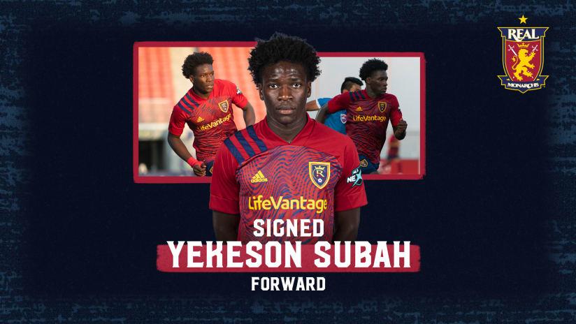 Real Monarchs Add Forward Yekeson Subah from RSL Academy