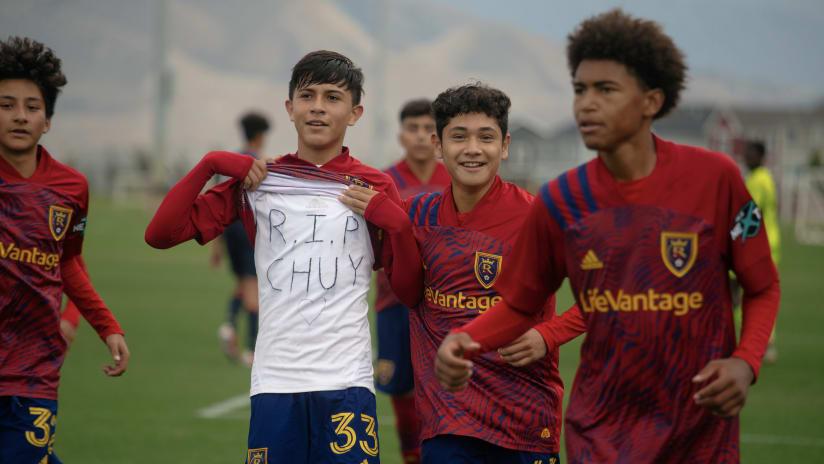 RSL Academy Unbeaten this Past Weekend