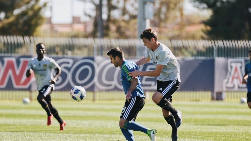 Rodriguez vs. CLB preseason 2-4-18