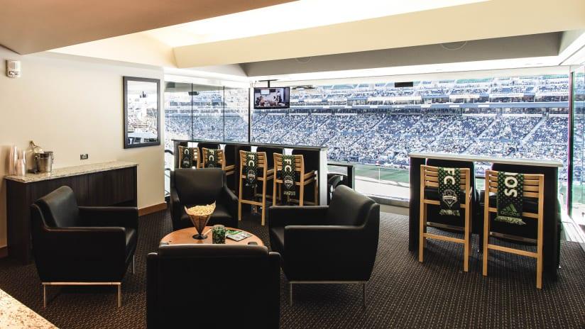 Suites & Premium Seating