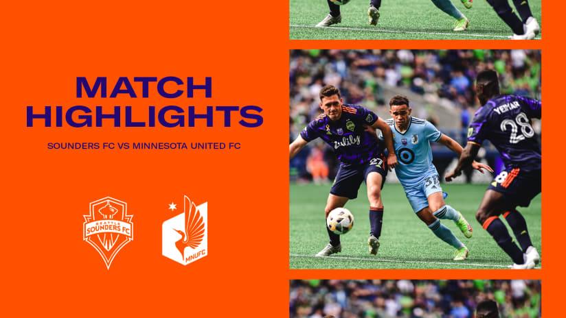 HIGHLIGHTS: Seattle Sounders FC vs. Minnesota United FC | September 11, 2021