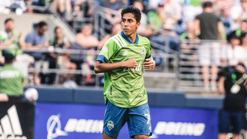 Homegrown Homecoming: Seattle Sounders midfielder Danny Leyva eager to return to hometown of Las Vegas for Leagues Cup Final