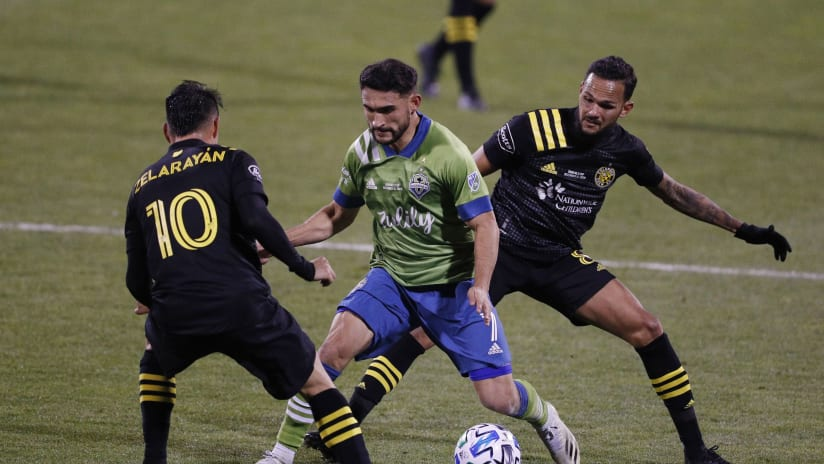 Cristian Roldan vs. Columbus Crew SC MLS Cup 2020-12-12