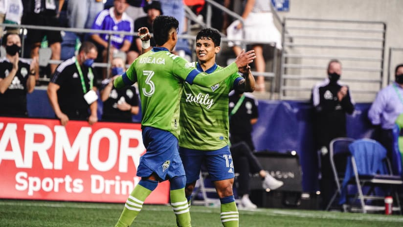 GOAL: Fredy Montero puts Seattle in front with a pinpoint header