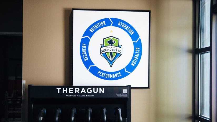 Sounders FC and Therabody announce new multi-year partnership