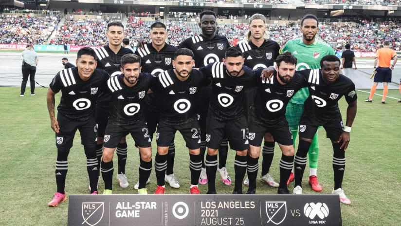 MLS Starting XI ASG 2021