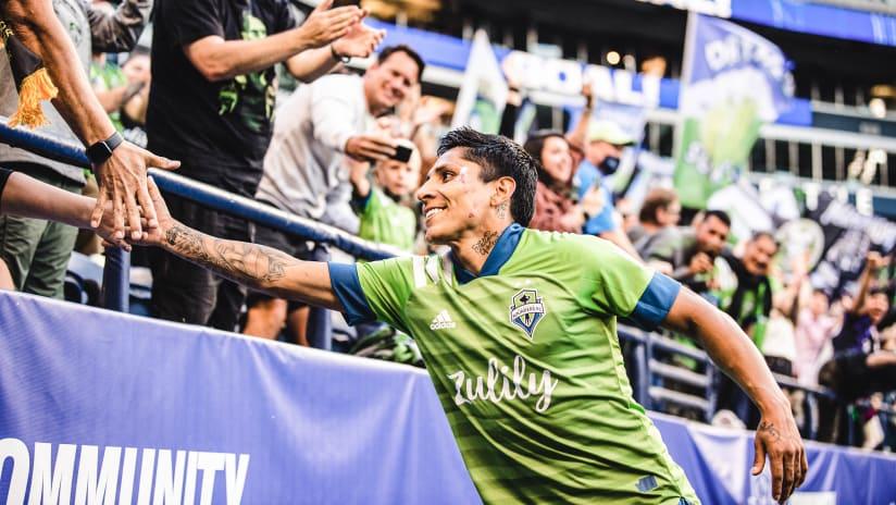 Raúl Ruidíaz voted MLS Player of the Week
