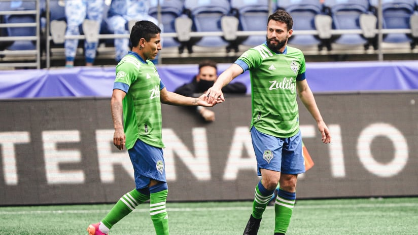 Several Seattle Sounders nominated for Major League Soccer 2021 End of Year Awards