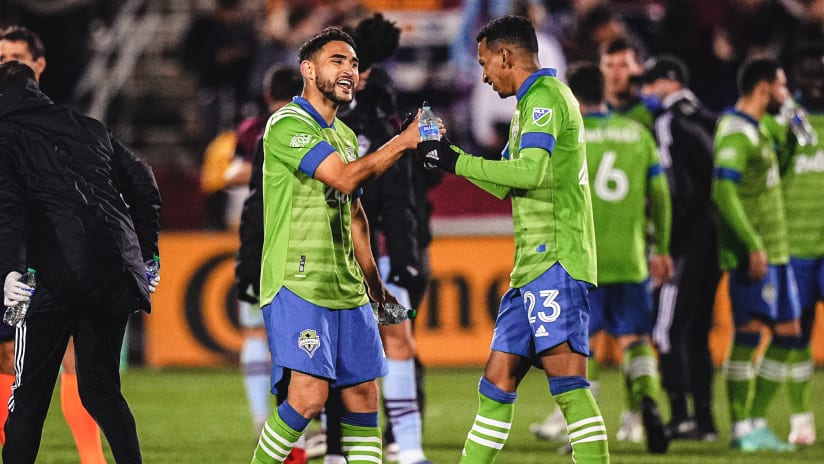 Léo Chú named to MLS Team of the Week for Week 31 following his crucial assist against Colorado Rapids