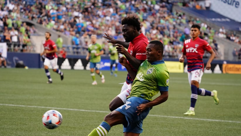 MATCH RECAP: Sounders FC and FC Dallas battle to 1-1 draw at Lumen Field