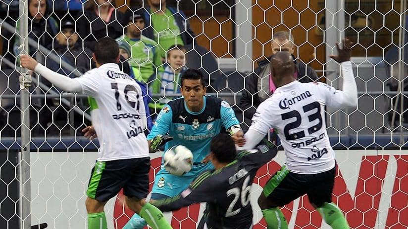 Gomez strike gives Santos 1-0 victory over Sounders ...