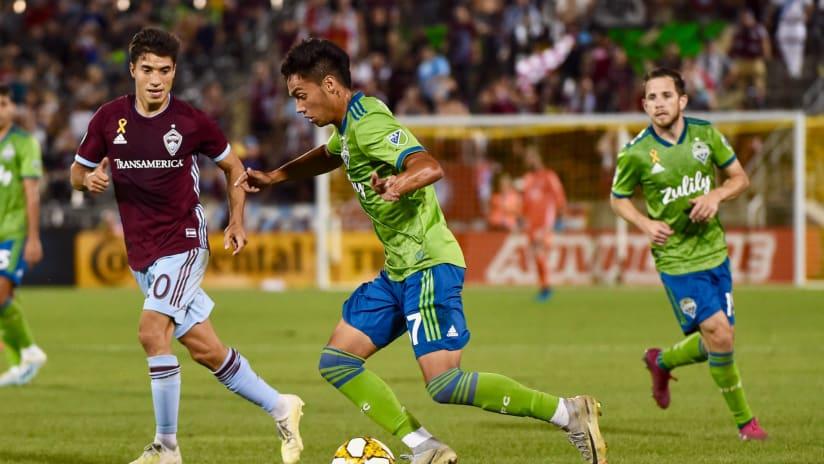 Hopeau MLS debut