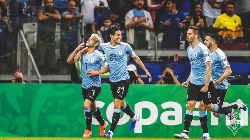 Lodeiro Uruguay Copa America