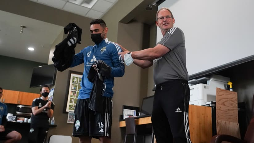 Brian Schmetzer surprises team with six All-Star Game selections
