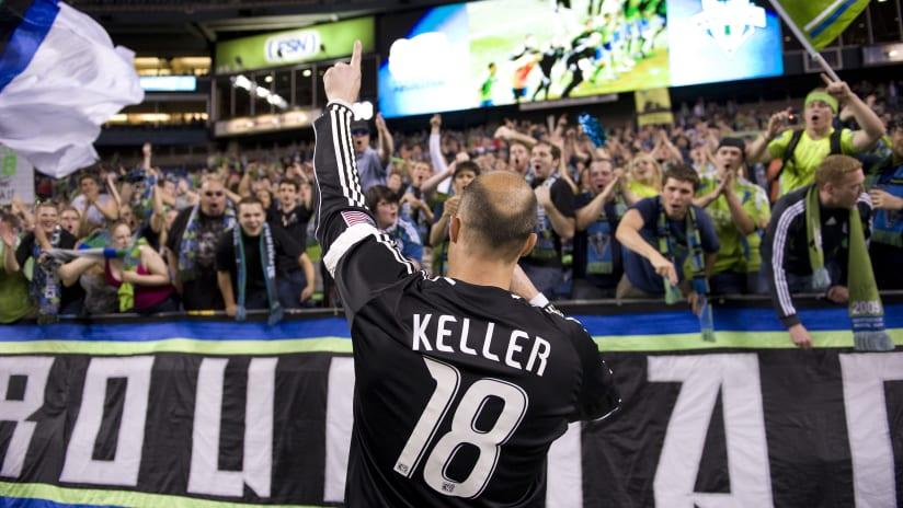 Kasey Keller back to fans