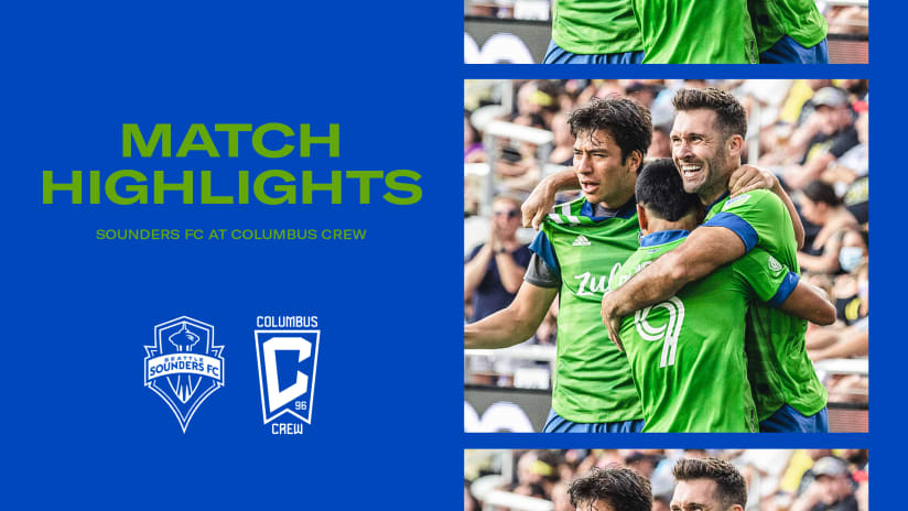 HIGHLIGHTS: Columbus Crew vs. Seattle Sounders FC | August 21, 2021