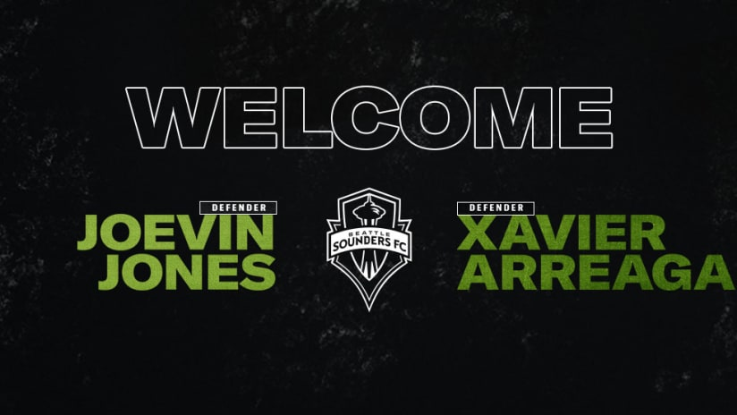 Welcome Joevin and Xavier